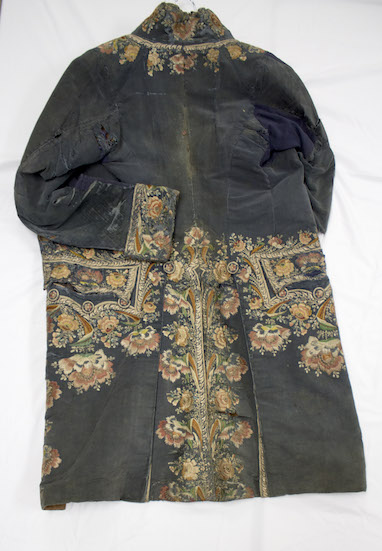 1780s coat, photo by Elizabeth Lanvin