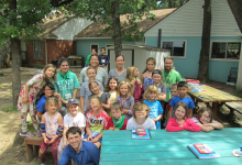 The Environmental Explorers Summer Camp team