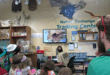 Campers at the Dallas Zoo Nature Exchange
